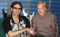 Friends for ever with Steve Vai || #guitar #guitarcenter #guitarist #guitarworld #guitarplayer #music #rock #stevevai #vai #igorsylla