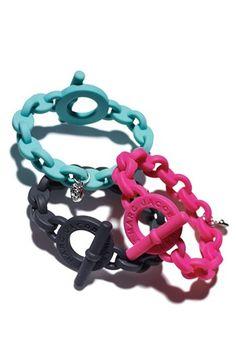 Marc Jacobs silicon bracelets