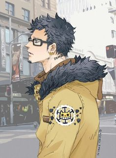 Trafalgar D. Water Law One piece One Piece Images, One Piece Pictures, Manga Art, Manga Anime, Anime Art, Trafalgar D Water Law, The Pirate King, Fanart, One Piece Anime