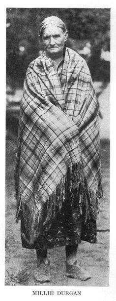 Millie Durgan, Indian captive.  My gg grandmother.