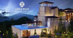Amila Hills is one of the best residential Property in Shimla providing highly luxurious Independent House and flats which surely make it the best residential property in Shimla. Independent House, Shimla, Closer To Nature, Under Construction, Be Perfect, Mansions, Luxury, House Styles, World