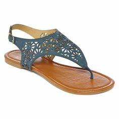 Mixit® Cutout Shield Sandals