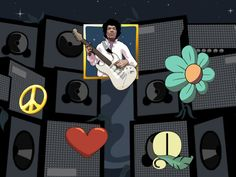 100 Free Spins for the Jimi Hendrix Slot at BETAT Casino