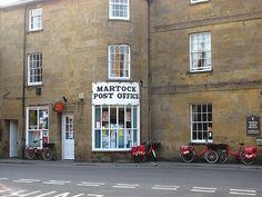 Martock Post Office (C) Richard Webb East Street, Street View, Somerset England, Post Office, Snail Mail