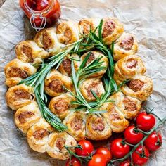 Tear and Share Sausage Rolls - Nicky's Kitchen Sanctuary
