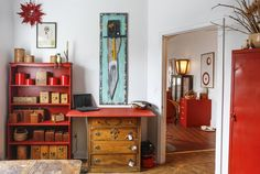 Kathie's Eclectic Rhode Island Live/Work Space — House Tour
