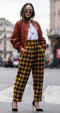 The best street style - Fashion Week Best Street Style, Looks Street Style, Cool Street Fashion, Looks Style, Street Chic, Street Style Women, My Style, Casual Winter Outfits, Classy Outfits
