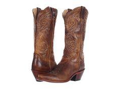 Justin Women's Tan Damiana Western Boots [L4332]