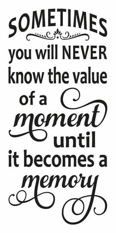 Value of moments