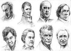 Faces. by MarkBulahao on DeviantArt