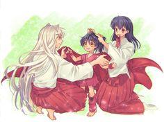 Inuyasha Funny, Inuyasha Fan Art, Inuyasha And Sesshomaru, Kagome And Inuyasha, Kagome Higurashi, Anime Nerd, Chica Anime Manga, Otaku Anime, Yuka
