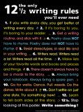 The Only 12 1/2 Writing Rules You'l