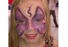 Butterfly Facepaint #facepaint #butterfly #party