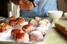 Brown Butter Brûléed Doughnut Holes  // joy the baker