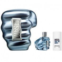 Estuche de regalo del #perfume para hombre Diesel Only The Brave de #Diesel  https://perfumesana.com/only-the-brave/2847-diesel-only-the-brave-pour-homme-estuche-edt-125-ml-spray-desodorante-stick-75-ml-3614271967466.html