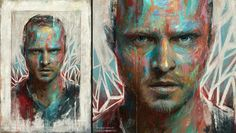 Aaron Paul by Sam Spratt via Flickr.
