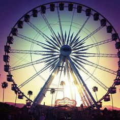 Object: Ferris wheel   Constraints:  1. Cost 2. Size 3. Time 4. Material  5. Family friendly?       #Coachella Ferris Wheel