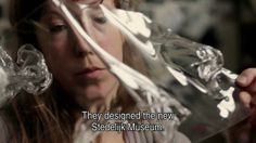 Dutch DFA video profile of fashion designer Iris van Herpen, whose strong silhouettes rejuvenate traditional crafts and use innovative and unusual materials.