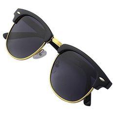 Occhiali da Sole Clubmaster Bordo in Corno Mezza Montatura Polarizzati GQUEEN | Abbigliamento e accessori, Uomo: accessori, Occhiali da sole e neutri | eBay!