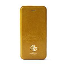 Giallo iPhone 5 Case, Genuine Italian Leather. www.Amber-Lu.com. $49.95