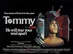 "YOUR SENSES WILL NEVER BE THE SAME! REMASTERED CLASSIC FILM! ""Tommy"" (1975) 