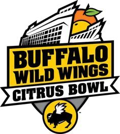 Buffalo Wild Wings now has a sponsorship with the Citrus Bowl Football Bowl Games, College Football Games, Camping World Stadium, Bowl Logo, Athletics Logo, Buffalo Wild Wings, Game Logo, Sports Logo, Lsu