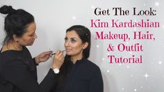 GET THE LOOK tutorial, my glam team and I show you how you can re-create KIM KARDASHIAN'S everyday look. That's right, we show you how to achieve her makeup, hair, & outfit! Easy Makeup Tutorial, Makeup Tutorials, Kim Kardashian, Simple Makeup, Everyday Look, Get The Look, Glamour, Beauty Makeup, Make Up