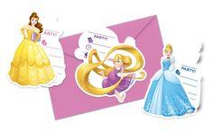 Disney Prinsessat- kutsukortti