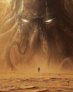 Lovecraftian Horror, Cosmic Horror, Fantasy Artwork, Fantasy Art, Eldritch Horror, Fantasy Monster, Cthulhu Art, Monster Art, Dark Fantasy Art