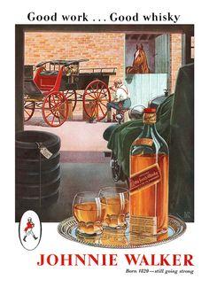 1944 Johnnie Walker Red ad