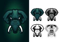 Elephant Mascot Logo for e-sports on Behance