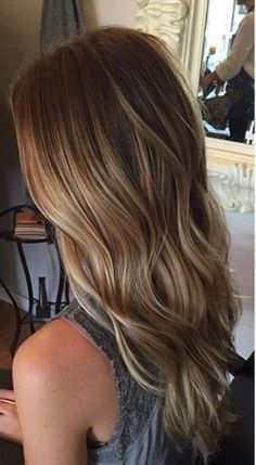 Balayage mermaid hair. So perfect for fall/winter