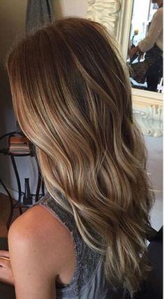 Balayage mermaid hair. So perfect for fall/winter