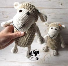 Crochet Sheep Free Pattern, Crochet Bear, Crochet Animals, Crochet Toys, Free Crochet, Crochet Patterns, Hobbies And Crafts, Diy And Crafts, Cd Diy