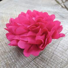 Marigold Hair Clip  #craft365.com
