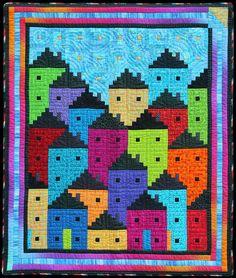 Rainbow City by Flavin Glover