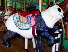 Memphis Zoo Carousel by Bette Sue Gray