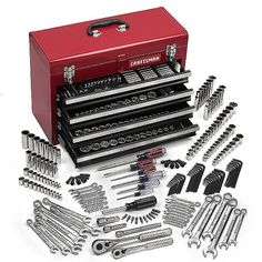 $7039 Autocle 283 piezas con caja metalica Craftsman 35283 | SEARS.COM.MX