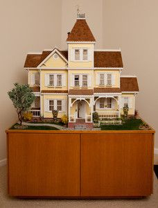 83 Best Dollhouses Yellow Images Miniature Houses