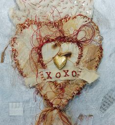 """Milagro of Xs and Os"" #heart by Pilar Isabel Pollock"