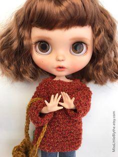 Un preferito personale dal mio negozio Etsy https://www.etsy.com/it/listing/560173478/ooak-custom-blythe-doll-fake-gabrielle