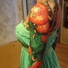 Jeff Gogue : I would get a Koi  if it looked like this : Japanese Full Sleeve : Tattoos :