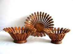 Hand crafted Wooden Basket