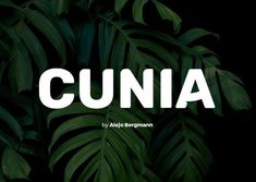 Cunia Display Free Font a sans serif font with slightly rounded corners designed by Alejo Bergmann. It contains all caps letters Logo Fonts Free, Bold Serif Fonts, Sans Serif Typeface, Best Free Fonts, Typography Fonts, Script Fonts, Font Free, Handwriting Fonts, Calligraphy Fonts