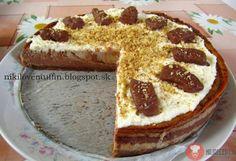 Banánovo-nutelový cheesecake - NajRecept.sk