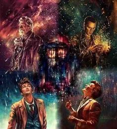 Four Doctors and the Tardis