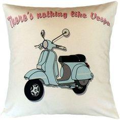 """Nothing Like Vespa?̥ÌÎ_Throw Pillow Dimensions : 15.7"""" ÌÎ_‰ۡÌÝ_ 15.7"""" 100% ?̥ÌÎ_Cotton Washable"""