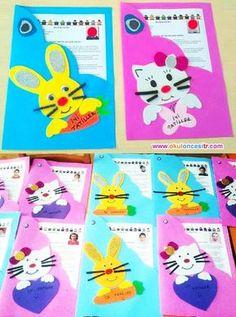 Gelişim raporu karne örnekleri ve dosya örneği çalışmaları ile gelişim raporu dosya kapakları hediyeleri süslemeleri kalıplı kapağı indir. Free preschool kindergarten report card cover printable.