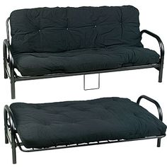 Haskell Metal And Wood Casual Twin Over Futon Bunk Bed Futon