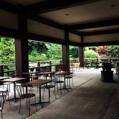 神谷町オープンテラス@光明寺心洗われるような自然を眺めながら、リラックスしてカフェが楽しめるのが素敵です。